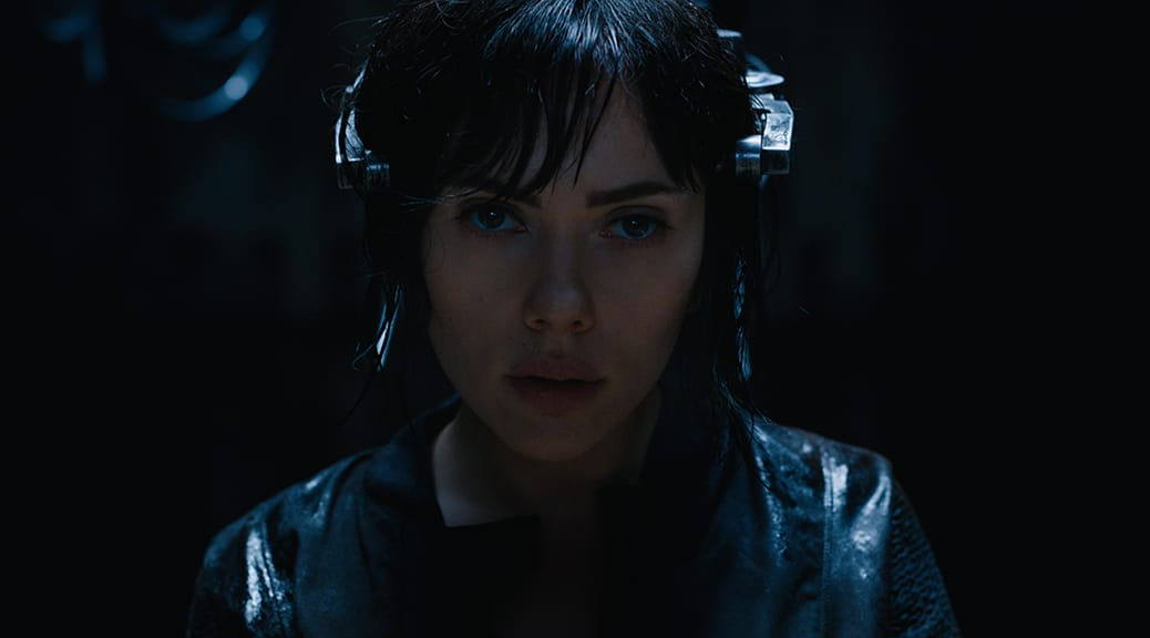 Ghost in the Shell (2017) de Rupert Sanders avec Scarlett Johansson