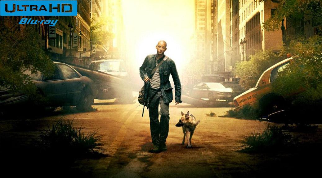 Je suis une légende (2007) de Francis Lawrence - Blu-ray 4K Ultra HD