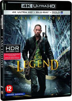 Je suis une légende (2007) de Francis Lawrence - Packshot Blu-ray 4K Ultra HD