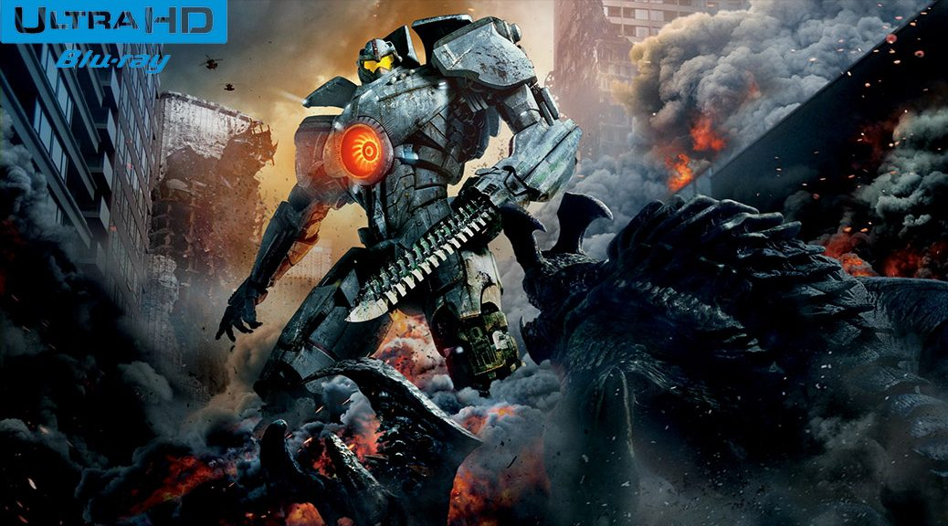 Pacific Rim (2013) de Guillermo del Toro – Blu-ray 4K Ultra HD