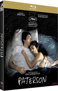 Paterson (2016) de Jim Jarmusch - Packshot Blu-ray