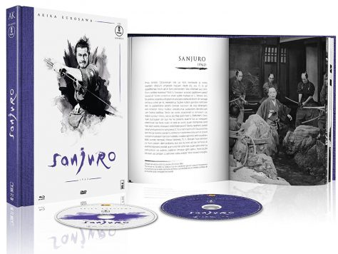 Sanjuro - Jaquette Blu-ray ouvert