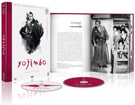 Yojimbo - Jaquette Blu-ray ouvert