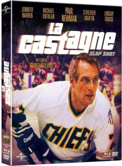 La Castagne (1977) de George Roy Hill - Packshot Blu-ray