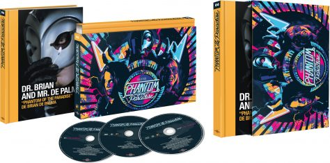 Coffret Ultra Collector (ouvert) Phantom of the Paradise