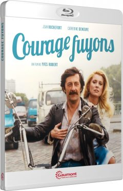 Courage fuyons (1979) de Yves Robert - Packshot Blu-ray Gaumont Découverte