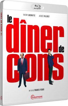 Le Dîner de cons (1998) de Francis Veber - Packshot Blu-ray Gaumont Découverte