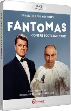 Fantomas contre Scotland Yard (1966) de André Hunebelle - Packshot Blu-ray Gaumont Découverte