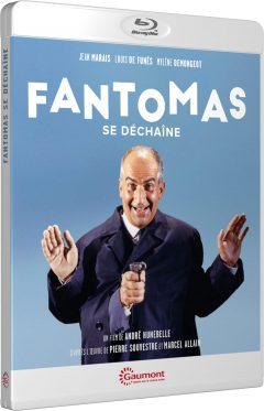 Fantomas se déchaîne (1965) de André Hunebelle - Packshot Blu-ray Gaumont Découverte