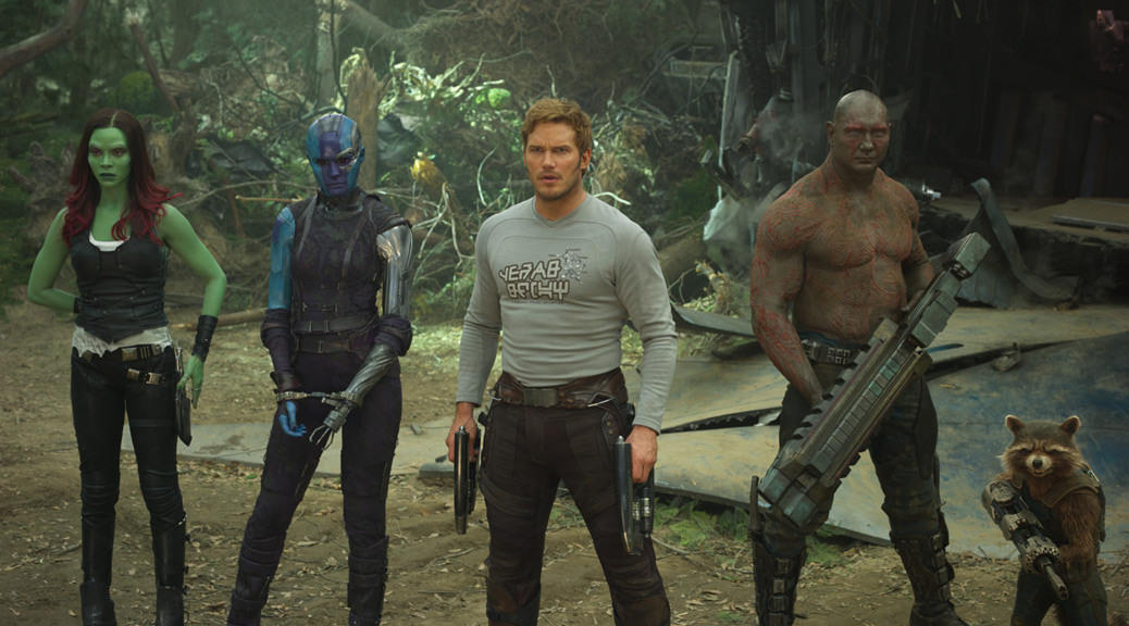 Les Gardiens de la galaxie 2 - Image Une critique
