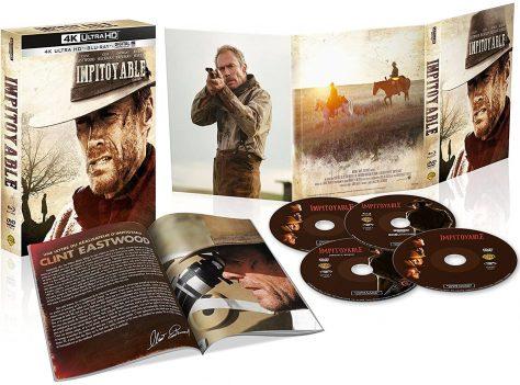 Impitoyable (1992) de Clint Eastwood - Édition 25e anniversaire - Packshot Blu-ray 4K Ultra HD