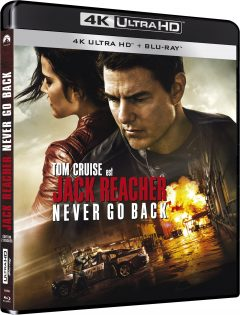 Jack Reacher : Never Go Back - Packshot Blu-ray 4K Ultra HD