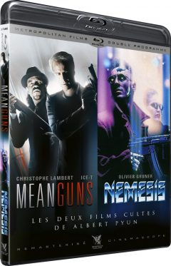 Mean Guns (1997) & Nemesis (1992) de Albert Pyun - Packshot Blu-ray
