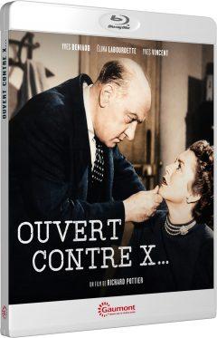 Ouvert contre X... (1952) de Richard Pottier - Packshot Blu-ray Gaumont Découverte