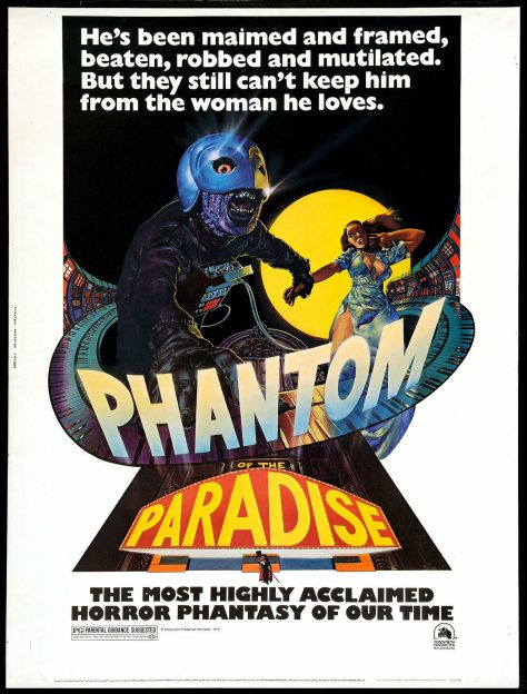 Phantom of the Paradise - Affiche US