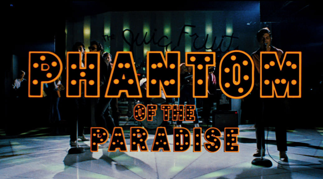 Phantom of the Paradise - Image Une test BRD