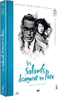 Les Salauds dorment en paix (1960) de Akira Kurosawa - Packshot Blu-ray