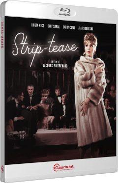 Strip-tease (1963) de Jacques Poitrenaud - Packshot Blu-ray Gaumont Découverte