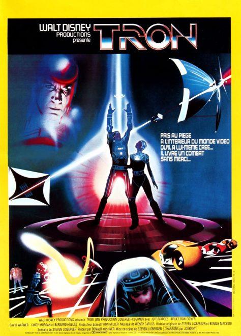 Tron 1982 - Affiche