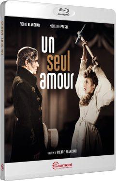 Un seul amour (1943) de Pierre Blanchar - Packshot Blu-ray Gaumont Découverte