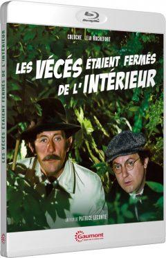 Les Vécés étaient fermés de l'intérieur (1975) de Patrice Leconte - Packshot Blu-ray Gaumont Découverte