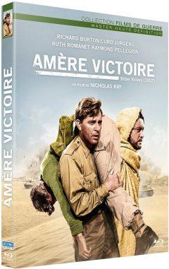 Amère Victoire (1957) de Nicholas Ray - Packshot Blu-ray