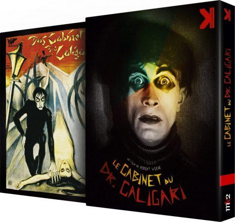 Le Cabinet du docteur Caligari (1920) de Robert Wiene - Packshot Blu-ray