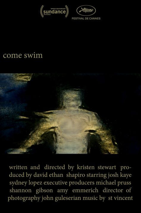 Come Swim - Affiche 2017