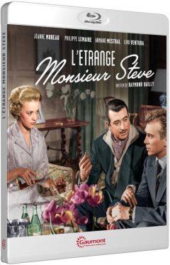 L'Étrange Monsieur Steve (1957) de Raymond Bailly - Packshot Blu-ray Gaumont Découverte