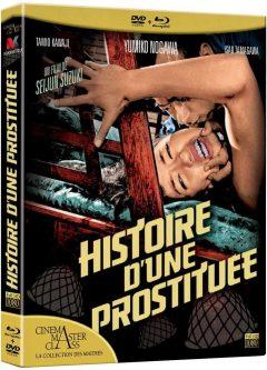 Histoire d'une prostituée (1965) de Seijun Suzuki - Packshot Blu-ray