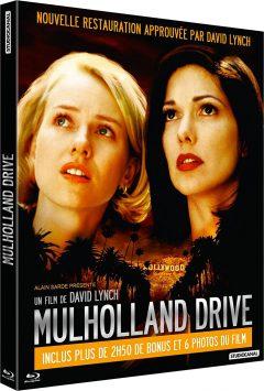 Mulholland Drive (2001) de David Lynch - Packshot Blu-ray