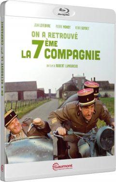 On a retrouvé la septième compagnie (1975) de Robert Lamoureux - Packshot Blu-ray Gaumont Découverte