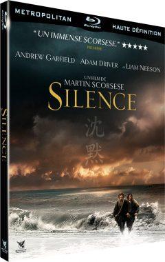Silence (2016) de Martin Scorsese - Packshot Blu-ray