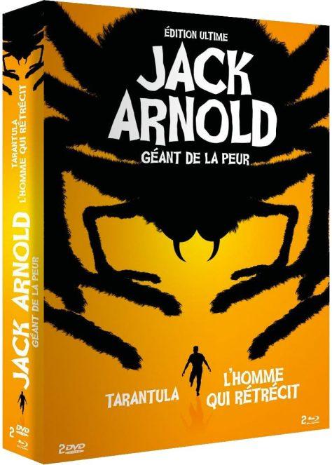 Tarantula (1955) & L'Homme qui rétrécit (1957) de Jack Arnold - Packshot Blu-ray