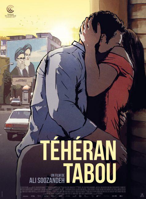 Téhéran Tabou - Affiche Cannes 2017