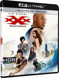 xXx : Reactivated (2017) de D.J. Caruso - Packshot Blu-ray 4K Ultra HD