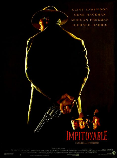 Impitoyable (1992) de Clint Eastwood - Affiche France