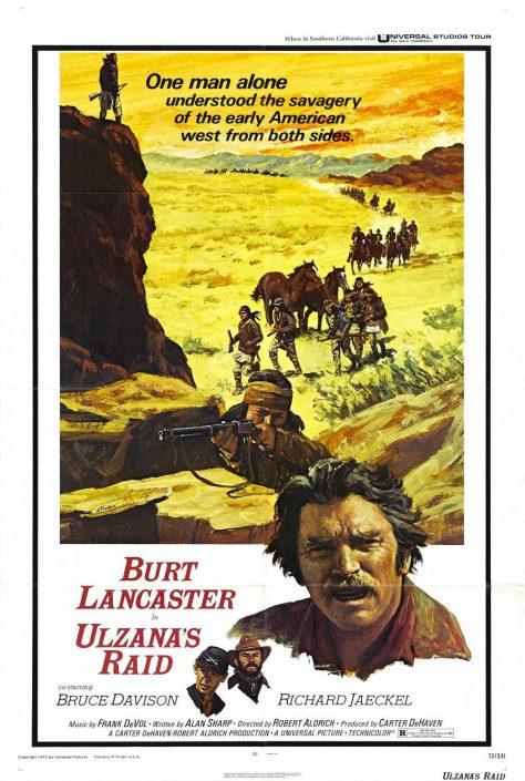 Fureur Apache (Ulzana's raid) - Affiche US