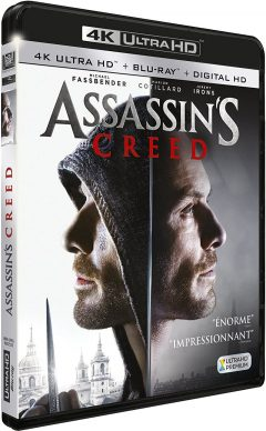 Assassin's Creed (2016) de Justin Kurzel - Packshot Blu-ray 4K Ultra HD