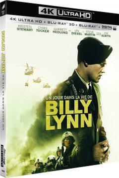 Un jour dans la vie de Billy Lynn (2016) de Ang Lee - Packshot Blu-ray 4K Ultra HD