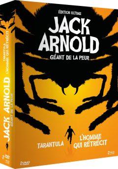 Coffret Jack Arnold - Jaquette 3D