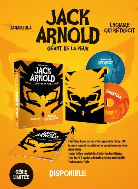 Coffret Jack Arnold - Plaquette Web