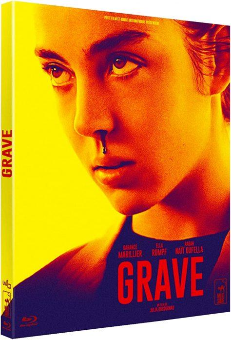 Grave (2016) de Julia Ducournau - Packshot Blu-ray