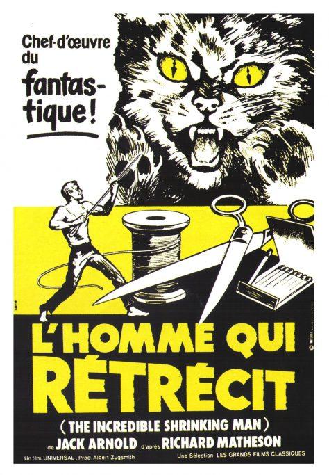 L'Homme qui rétrécit - Affiche France