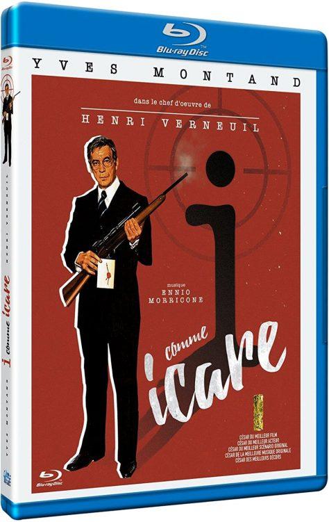 I... comme Icare (1979) de Henri Verneuil - Packshot Blu-ray