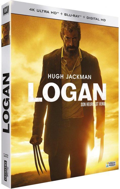 Logan (2017) de James Mangold - Packshot Blu-ray 4K Ultra HD