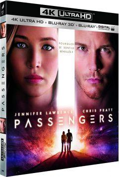 Passengers (2016) de Morten Tyldum - Packshot Blu-ray 4K Ultra HD