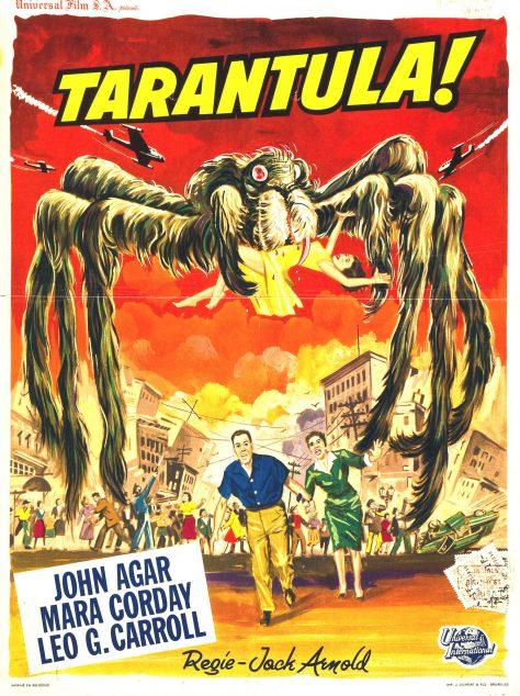 Tarantula - Affiche Be