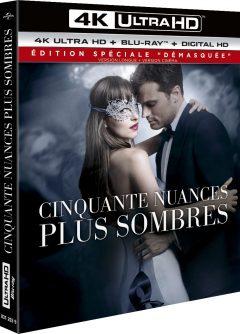 Cinquante nuances plus sombres (2017) de James Foley - Packshot Blu-ray 4K Ultra HD