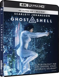 Ghost in the Shell (2017) de Rupert Sanders - Packshot Blu-ray 4K Ultra HD